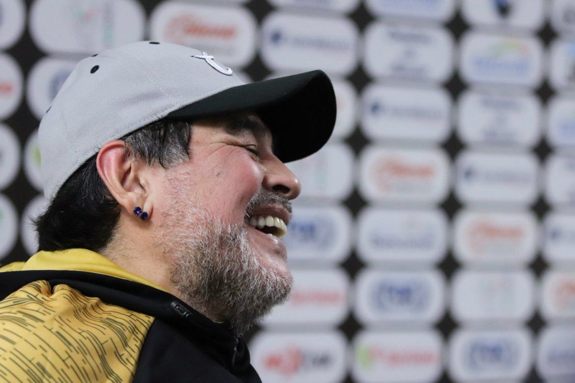 Maradona feliz con el momento de Dorados - Foto Dorados de Sinaloa
