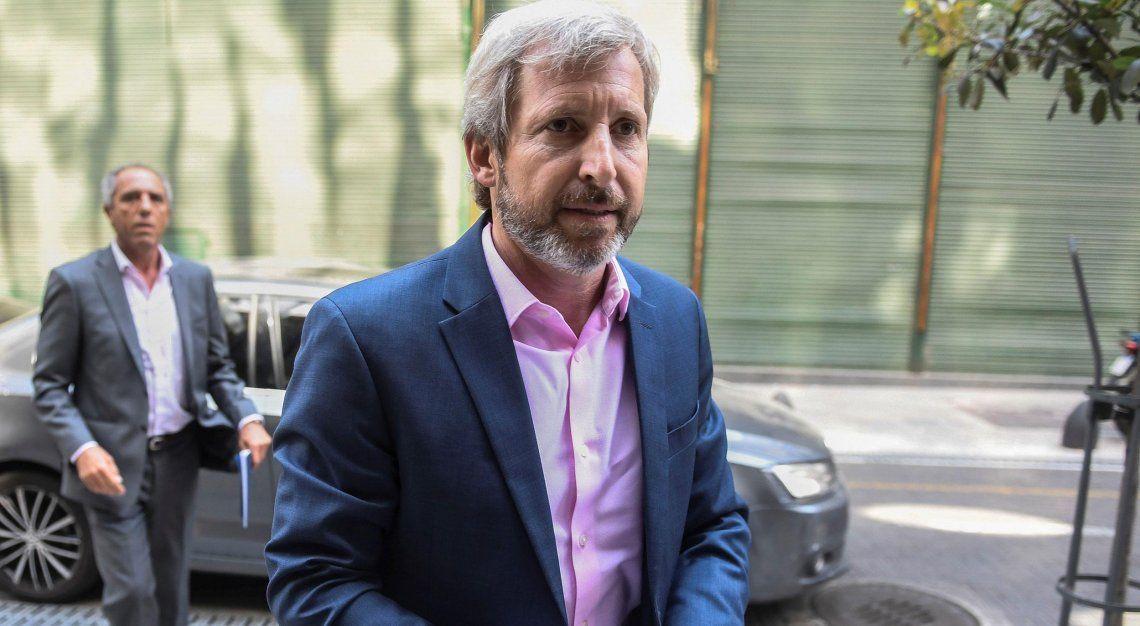 Rogelio Frigerio: El candidato a presidente es Mauricio Macri, va a ir por la reelección