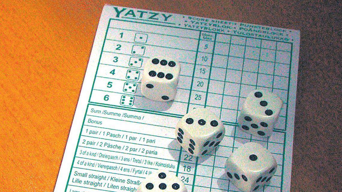 Yatzy, con azar y estrategia