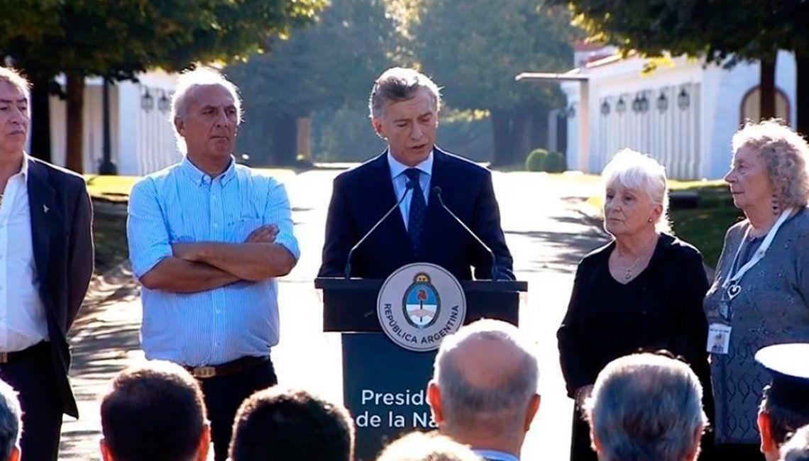 Mauricio Macri: El reclamo por Malvinas es legítimo e irrenunciable