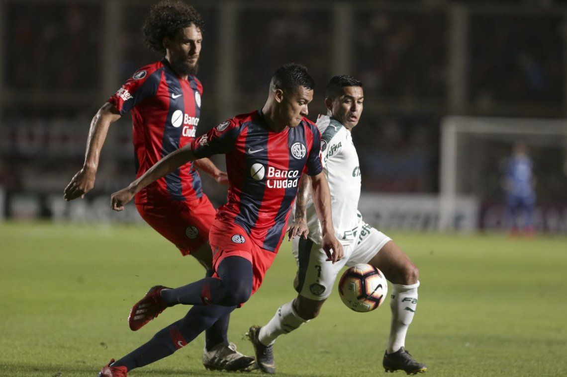 Copa Libertadores: San Lorenzo derrotó a Palmeiras en un partido clave
