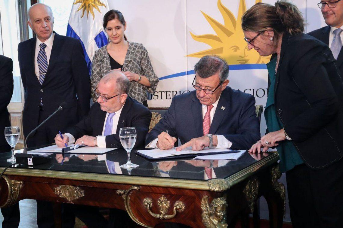 Recuperación de bienes: Argentina y Uruguay firmaron un acuerdo