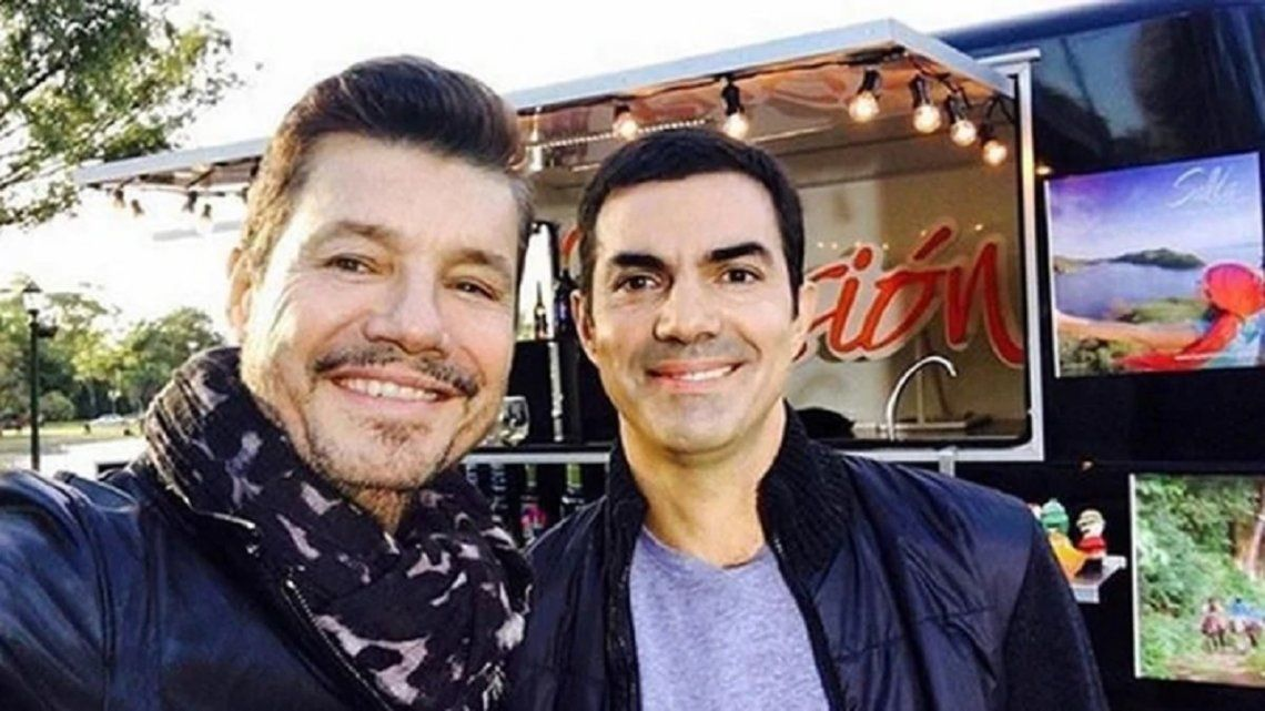 Tras mostrarse con Massa, Tinelli se reunió con Urtubey en Salta