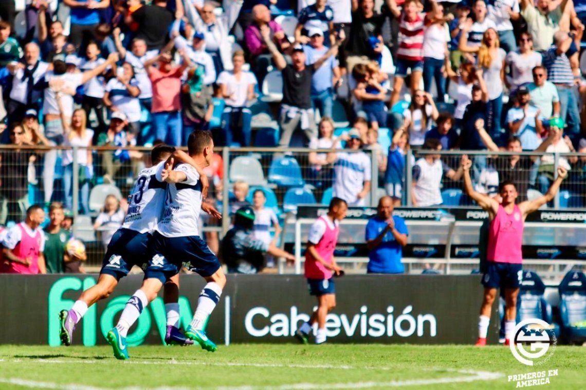Gimnasia le ganó a Colón y sumó tres puntos clave para su permanencia en Primera División