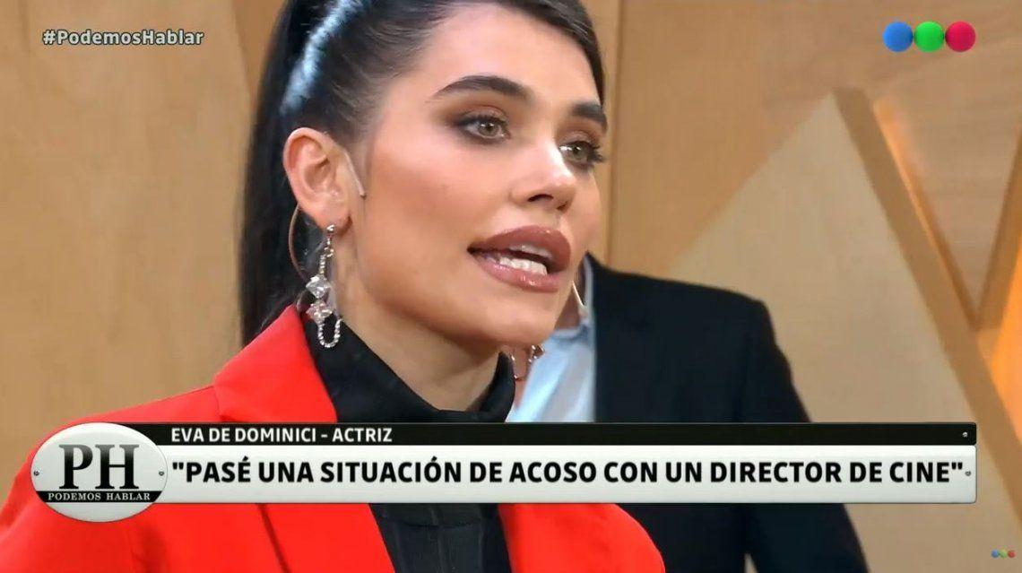 #PodemosHablar | La espantosa situación de acoso que Eva De Dominici sufrió con un director de cine