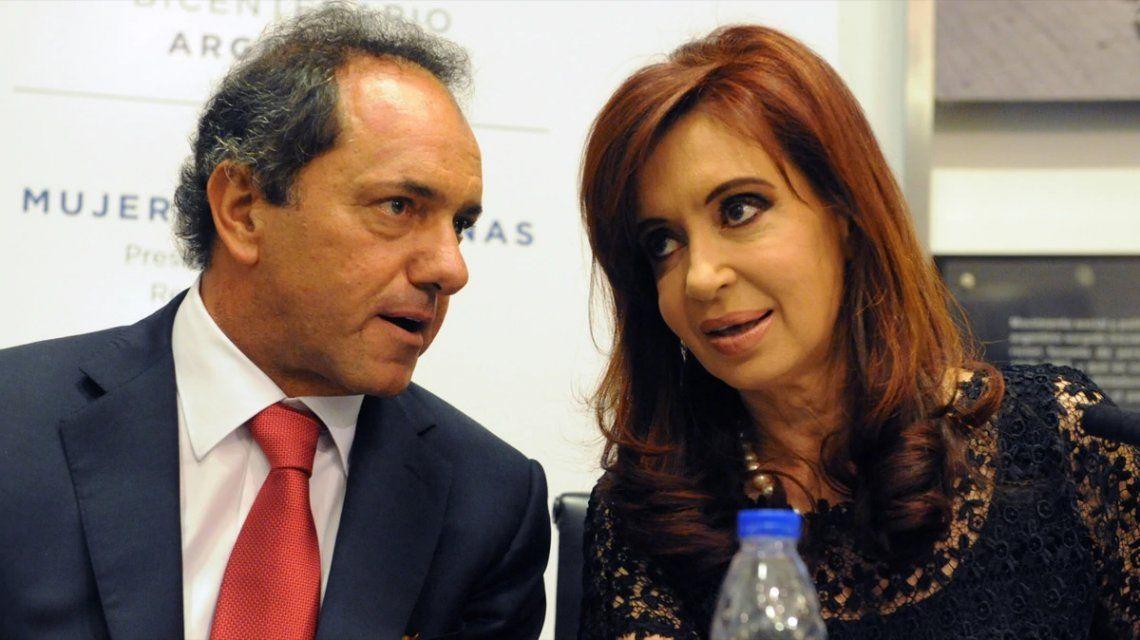 Daniel Scioli: Voy a ser candidato a presidente, independientemente de lo que haga Cristina Kirchner