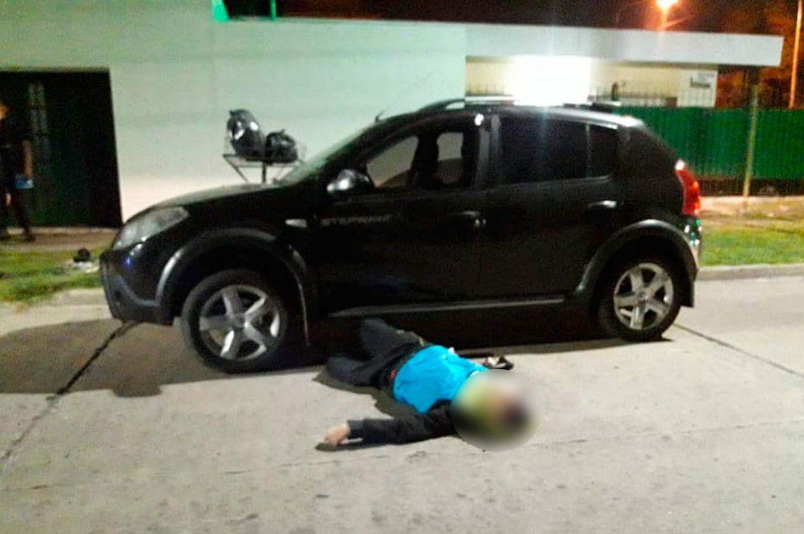 Villa Ballester: Un gendarme que trabaja como chofer de Uber mató a un delincuente