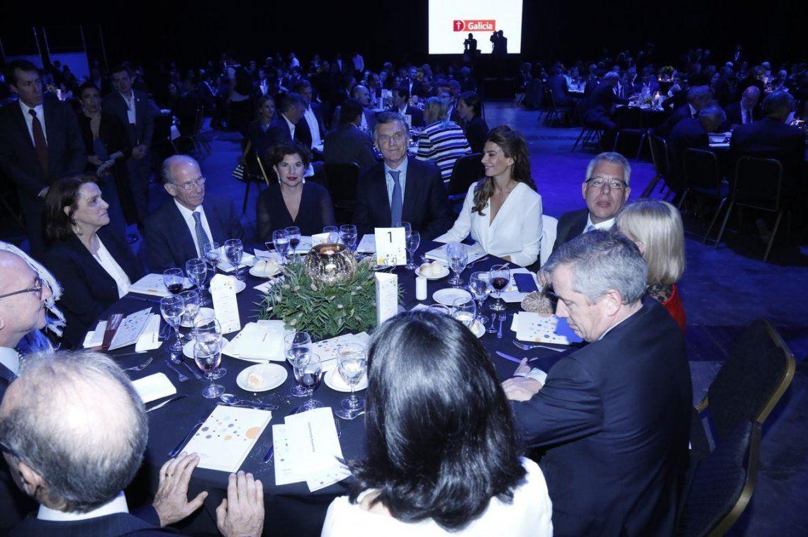 Mauricio Macri, en la cena de Cippec: La economía va por el rumbo correcto