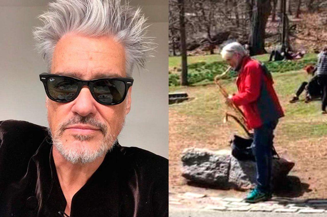 Después de las denuncias de acoso, Roberto Pettinato se exilió y toca a la gorra en Nueva York