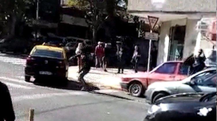Domiciliaria y tobillera para el taxista que protagonizó una violenta pelea