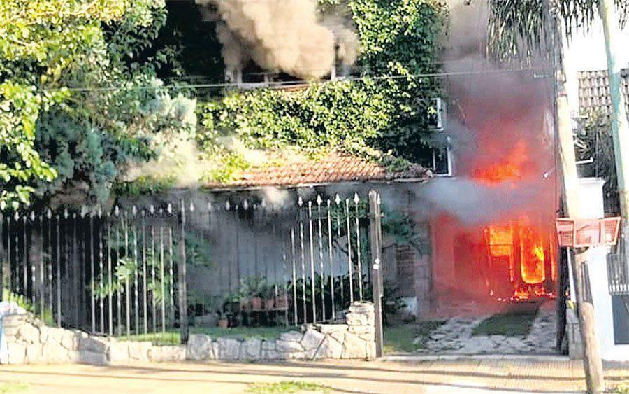 El Palomar: un voraz incendio a una casa generó una emotiva campaña solidaria