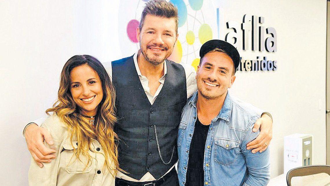 Marcelo Tinelli lo hizo: convenció a Fede Bal de bailar con Lourdes Sánchez