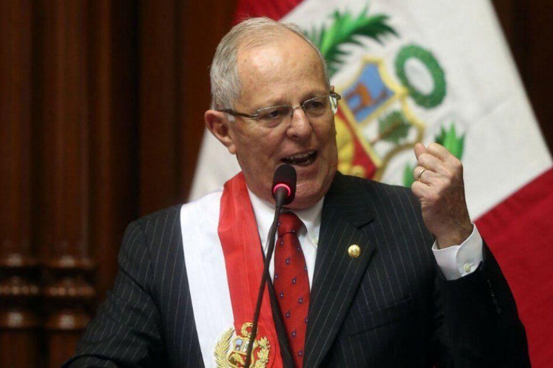 Ordenan la detención de ex presidente de Perú Pedro Kuczynski por el caso Odebrecht