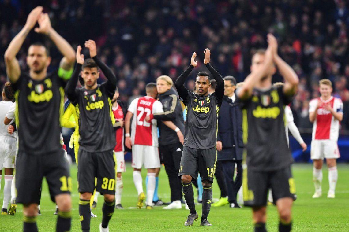 Champions League: Ajax y Juventus empataron con goles de David Neres y Cristiano Ronaldo y definirán la serie en Turín