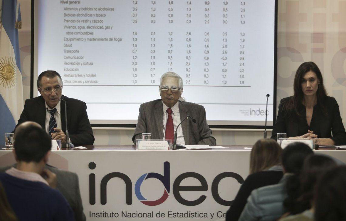 El titular del Indec, Jorge Todesca, propuso tres compromisos básicos para frenar la inflación