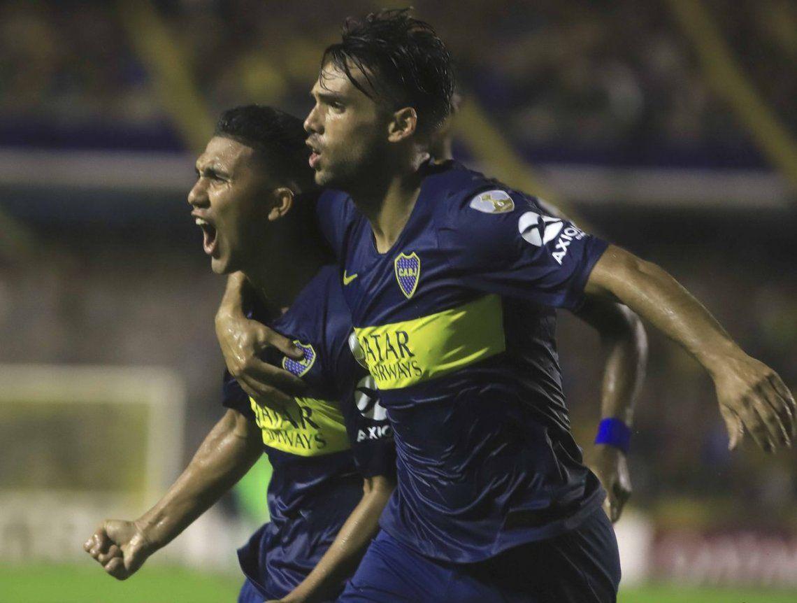 Lluvia de goles en la Bombonera: Boca derrotó a Jorge Wilstermann por 4 a 0