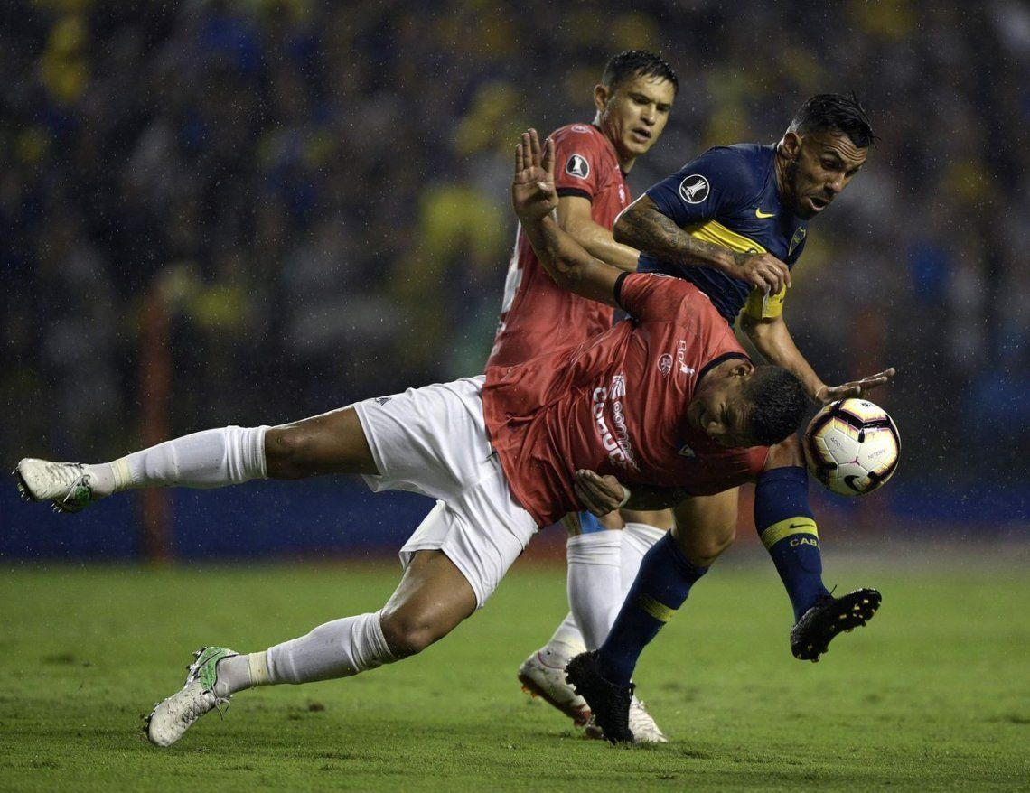 Boca - Jorge Wilstermann, por Copa Libertadores: las mejores fotos de la goleada xeneize en la Bombonera