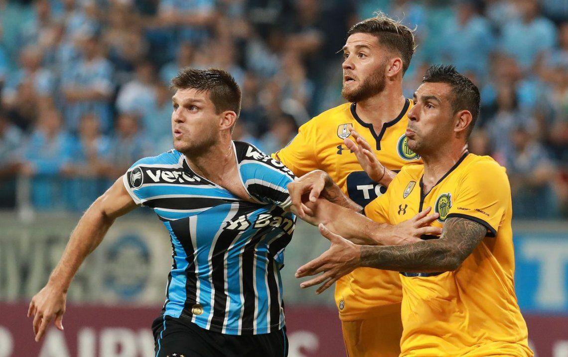 No levanta: Rosario Central perdió ante Gremio por 3-1 y complicó su futuro en la Copa Libertadores