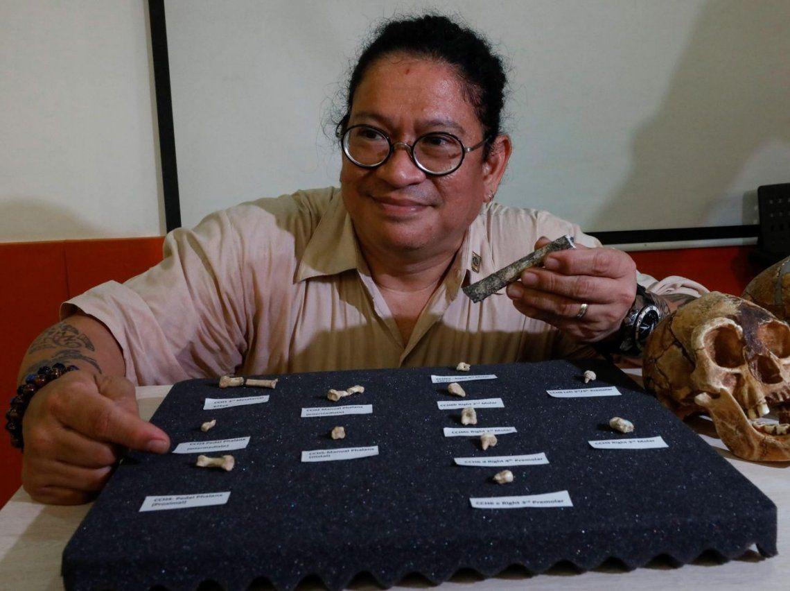 Hallan fósiles de nueva especie humana en Filipinas