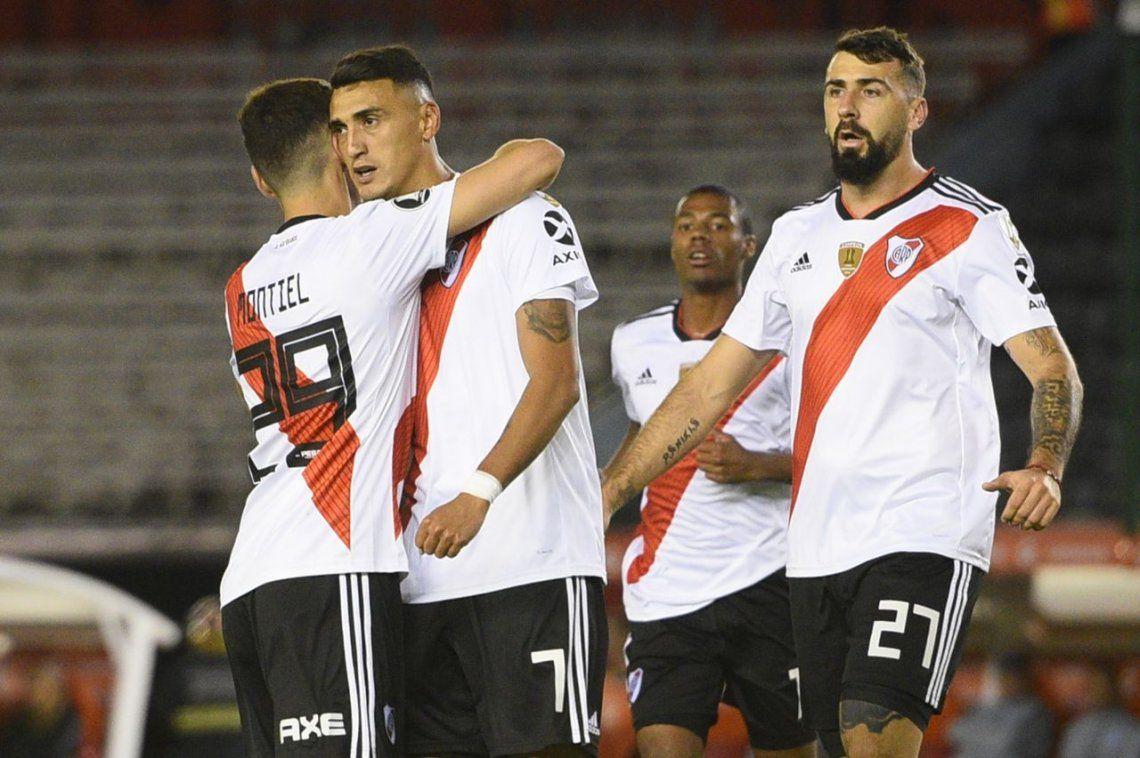 River goleó a Alianza Lima: las miradas estaban en Lux pero las luces de la llevó De la Cruz.