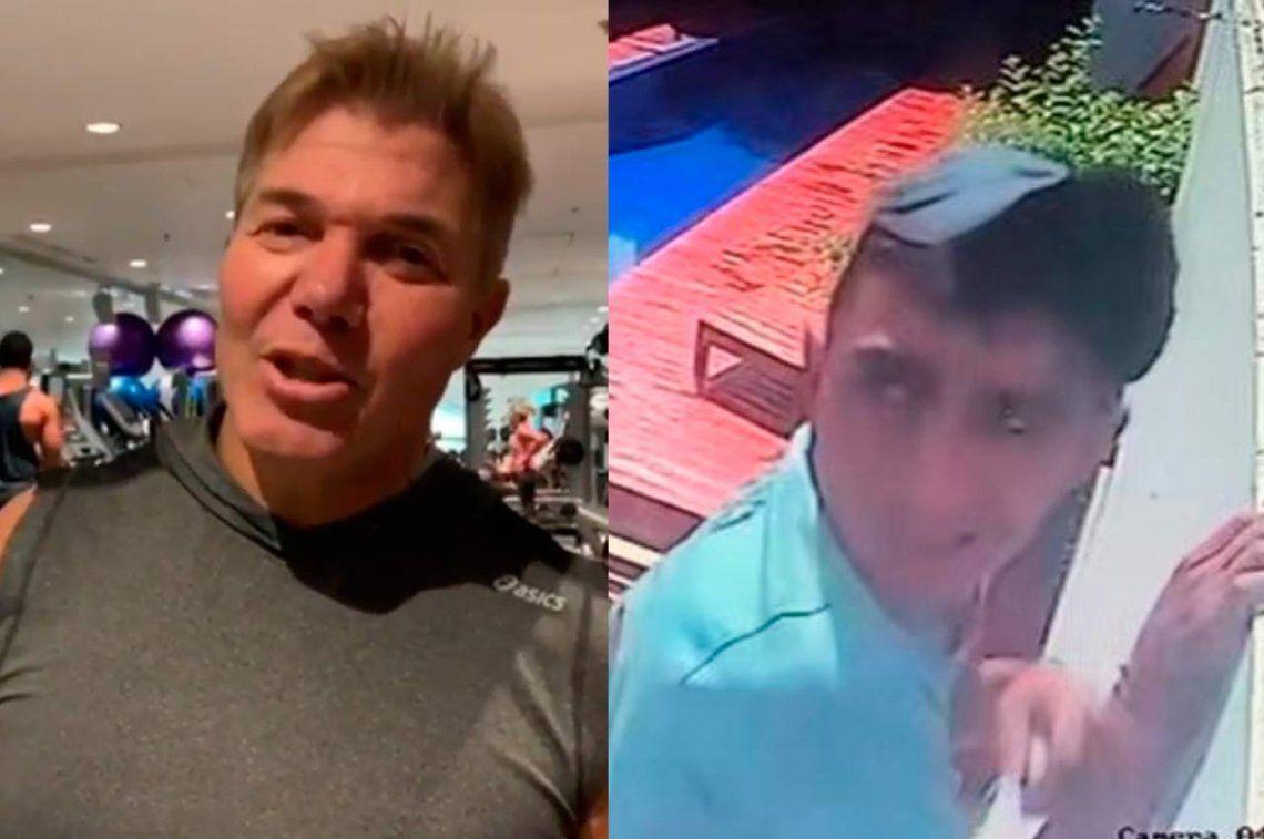 Entraron a robar a la casa de Fernando Burlando y maltrataron a una empleada