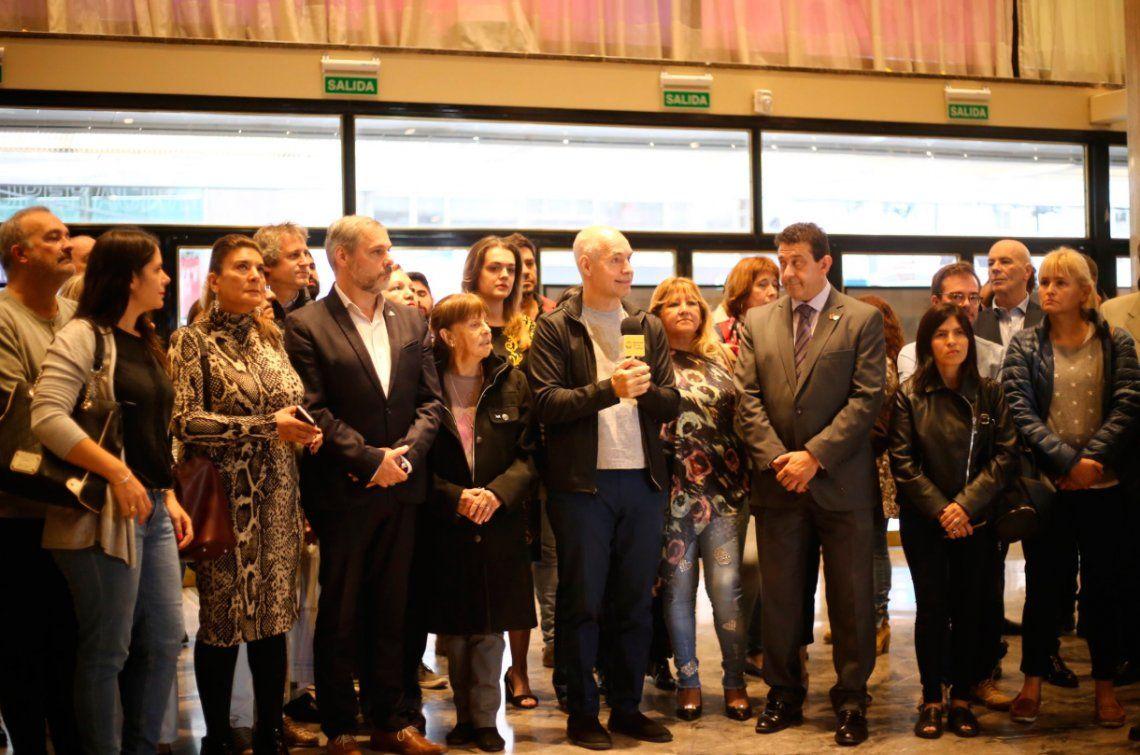 La nueva Avenida Corrientes peatonal fue presentada por Rodríguez Larreta