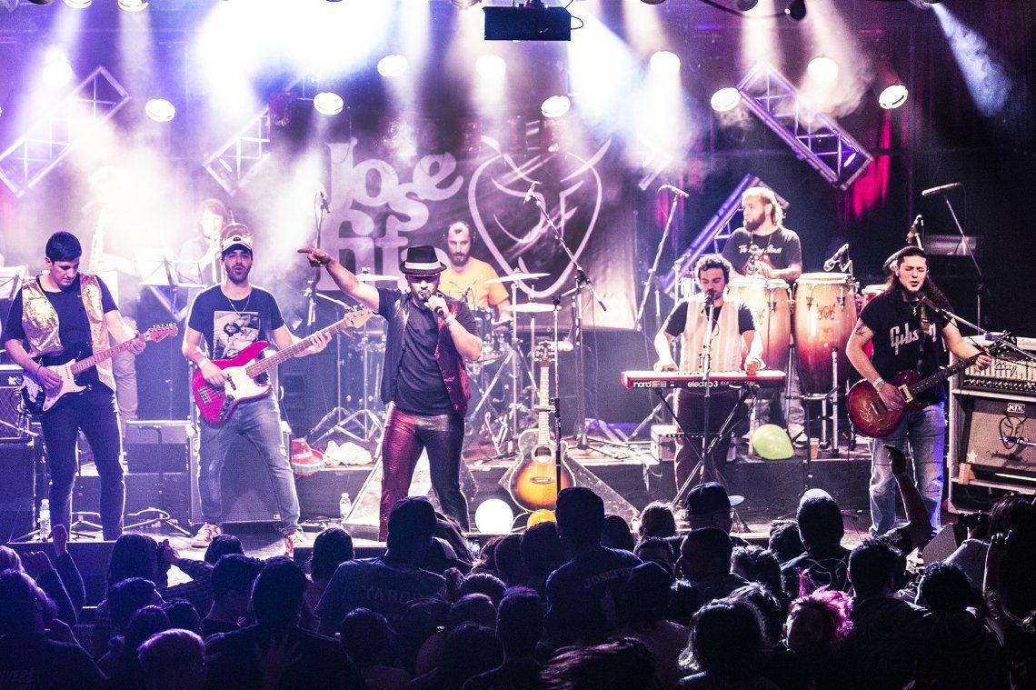 Rock and roll y carnaval con Josefita