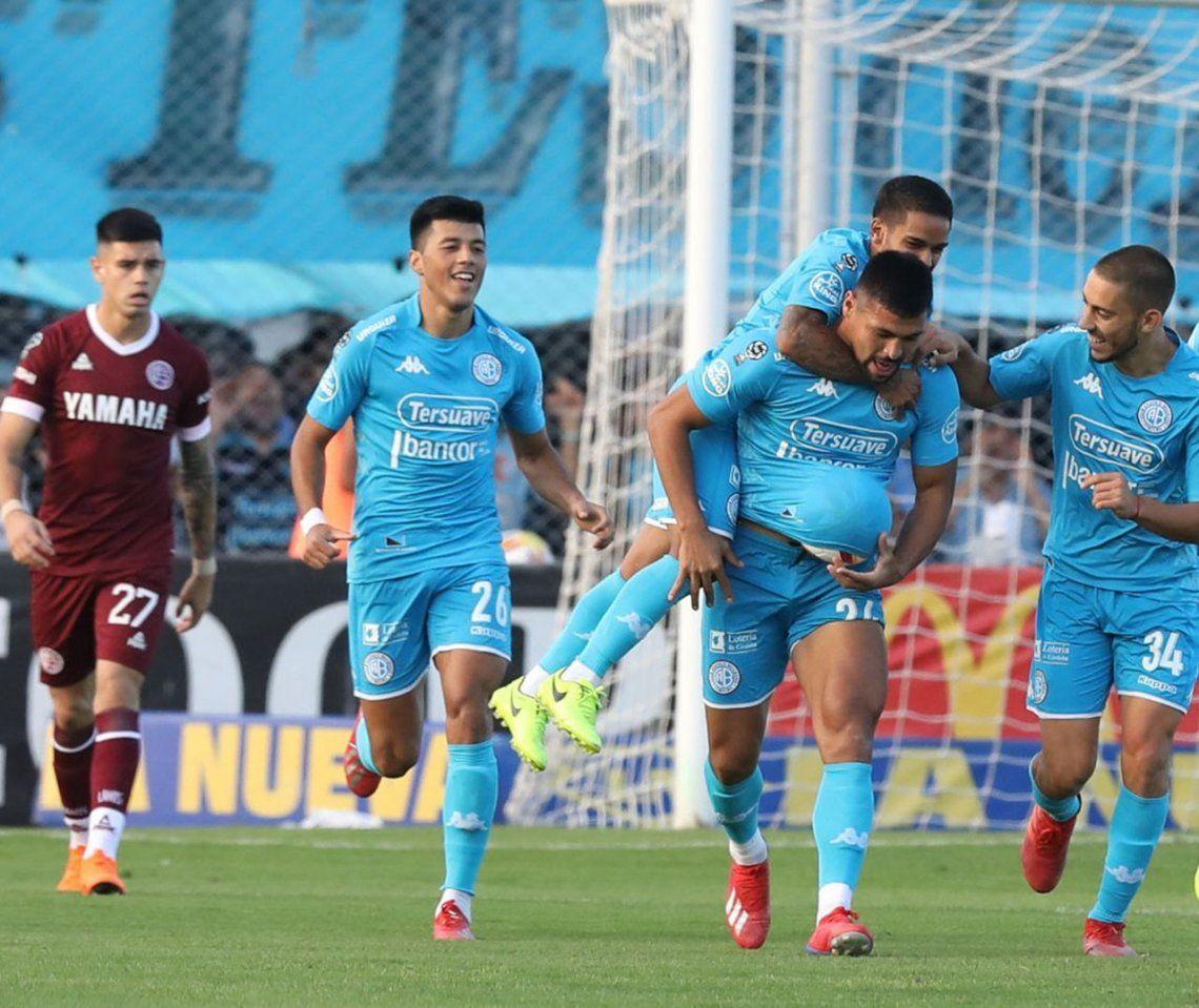 Después del descenso, una sonrisa: Belgrano y San Martín (SJ) pisaron fuerte en la Copa de la Superliga