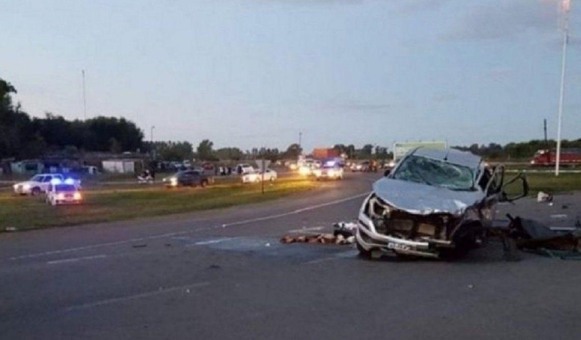 Carmen de Areco: 8 muertos por un trágico choque frontal entre dos autos