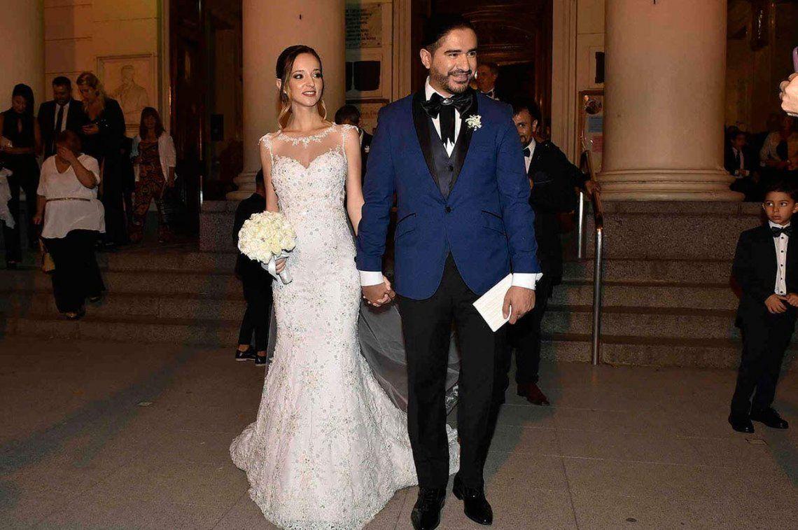 Se casó el líder de Ráfaga, Ariel Pucheta, y será papá en breve