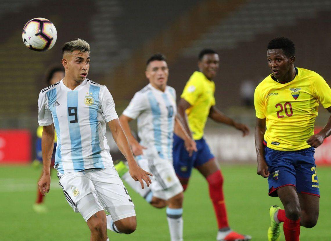 Argentina jugó liviano con Ecuador y hubo polémica por el nivel