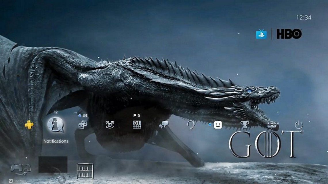 Game of Thrones: cómo instalar el tema gratuito para PS4 y descargar los avatares especiales