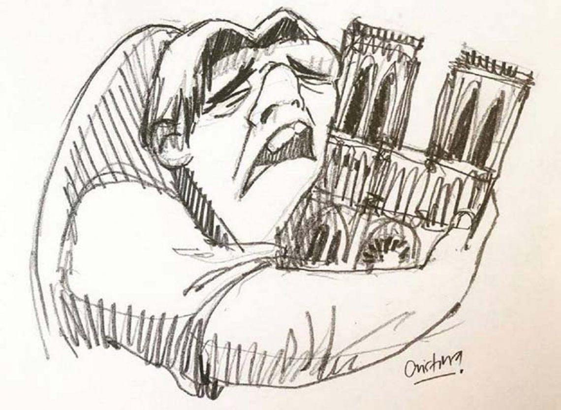 Incendio en Notre Dame: el mundo llora la pérdida de un icono cultural