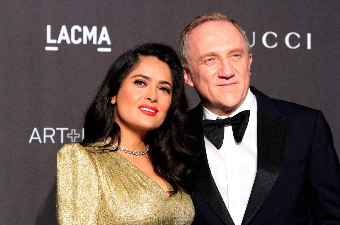 El esposo magnate de Salma Hayek donará 100 millones de euros para restaurar Notre Dame de París