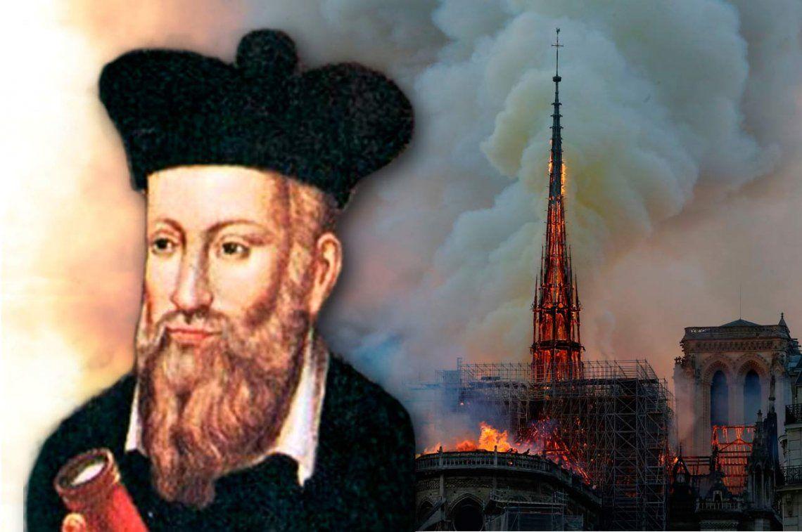 ¿Predijo Notradamus el incendio de la catedral de Notre Dame?