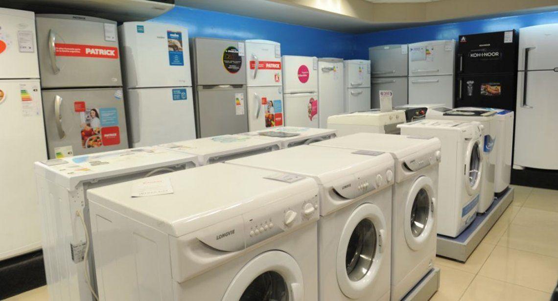 Los electrodomésticos aumentaron un 45% en marzo