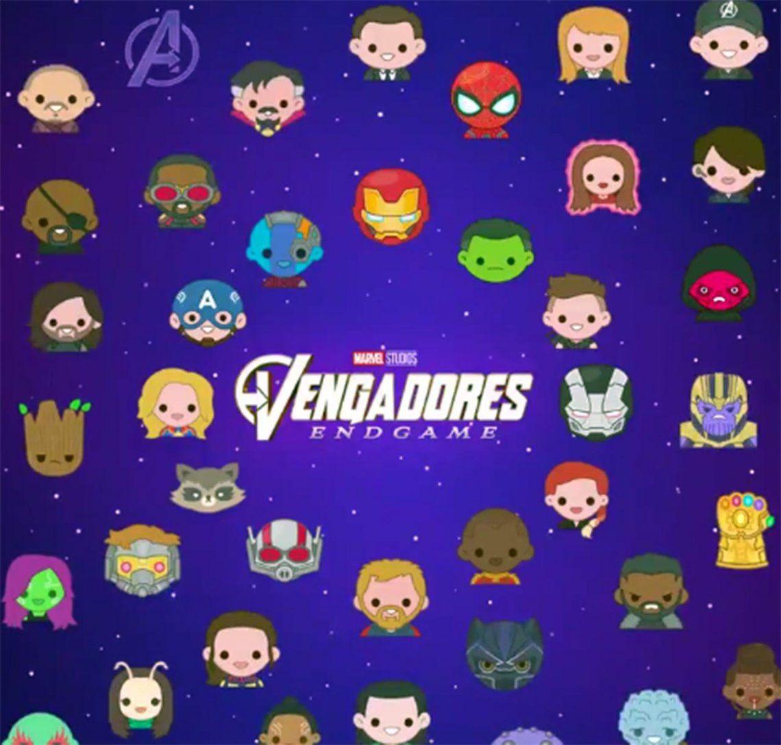 Avengers Endgame | Cómo utilizar los nuevos emojis para Twitter