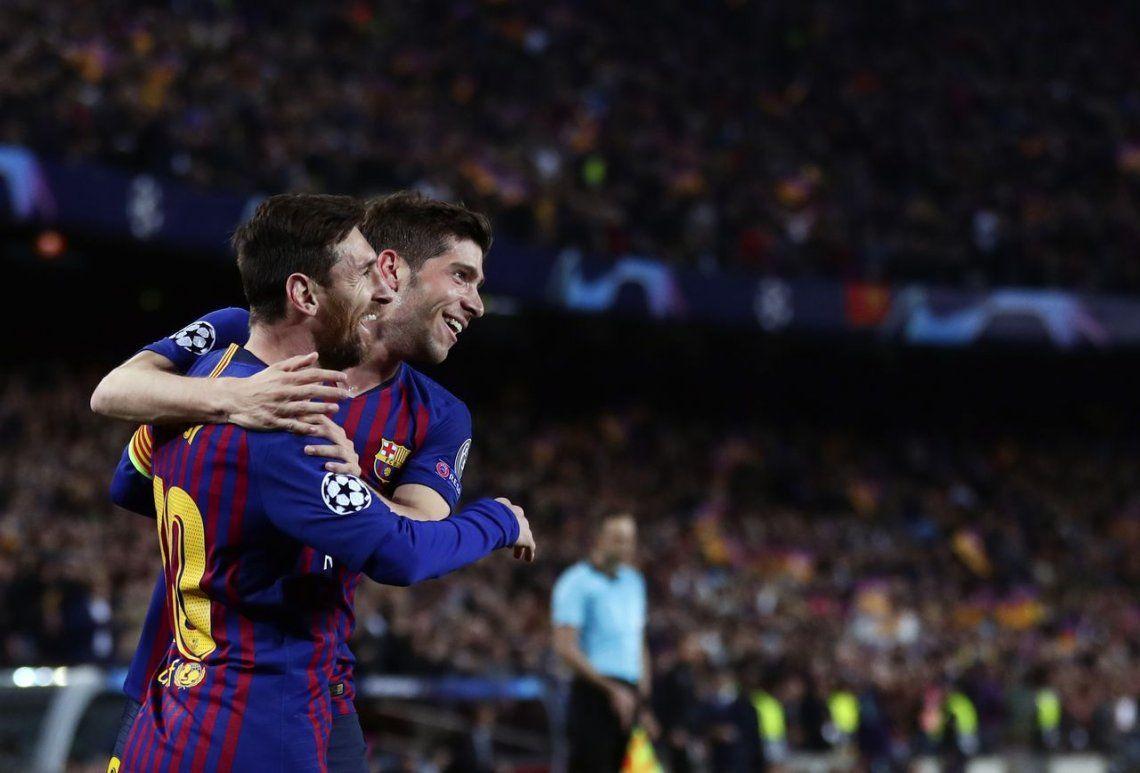 Champions League: Barcelona, de la mano de Lionel Messi, goleó al Manchester United y pasó a semifinales