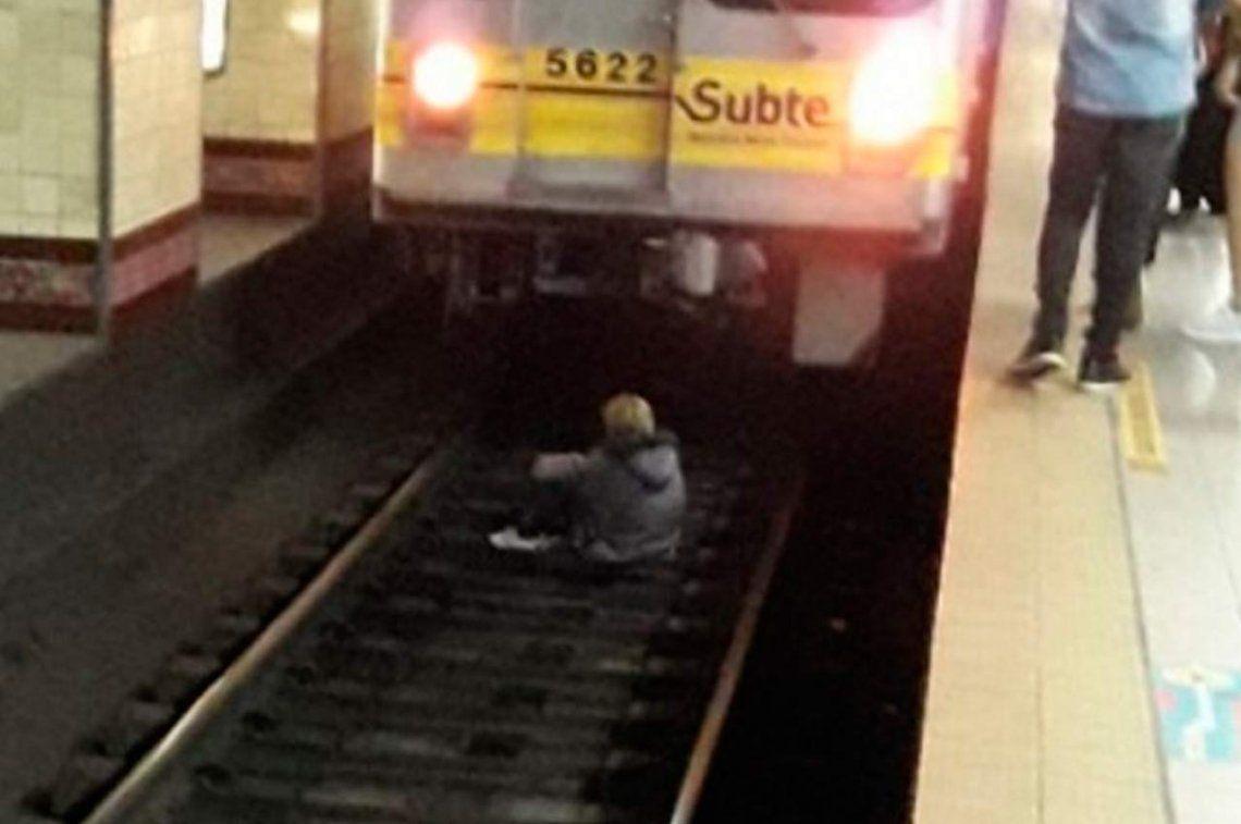 Una jubilada se quiso suicidar en el subte porque no le alcanza para comer