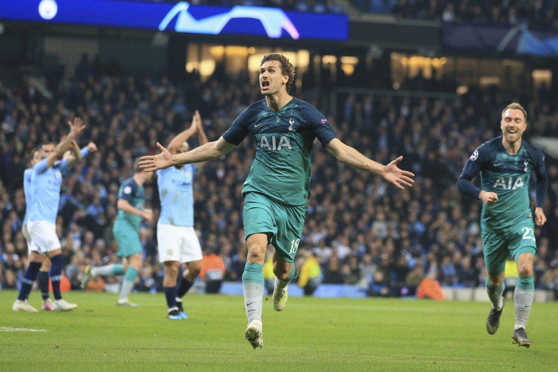 Champions League: el Tottenham de Pochettino eliminó al Manchester City de Pep Guardiola y el Kun Agüero