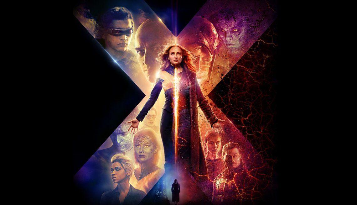 ¿La peor entrega de la saga? La crítica destroza a X-Men: Dark Phoenix