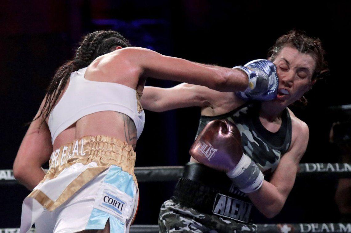 Histórica victoria en el boxeo femenino argentino