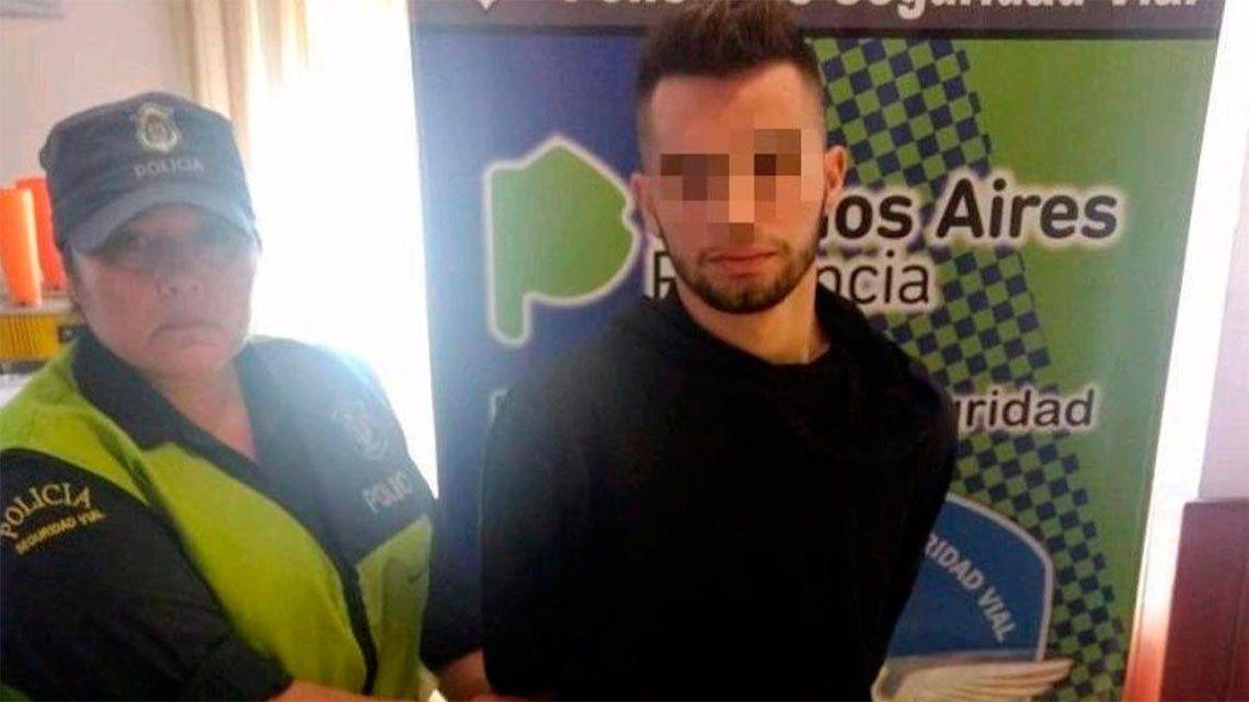Lo arrestaron con 262 pastillas de éxtasis en el auto en la Autovía 2
