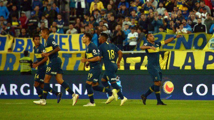 Boca cumplió y le ganó cómodo al desconocido Estudiantes de Río Cuarto
