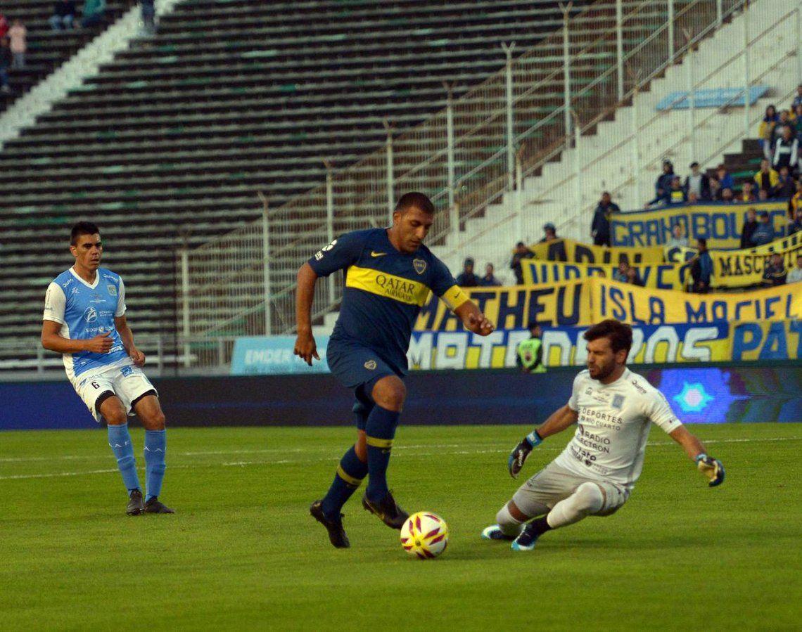 Las fotos del triunfo de Boca ante Estudiantes de Río Cuarto