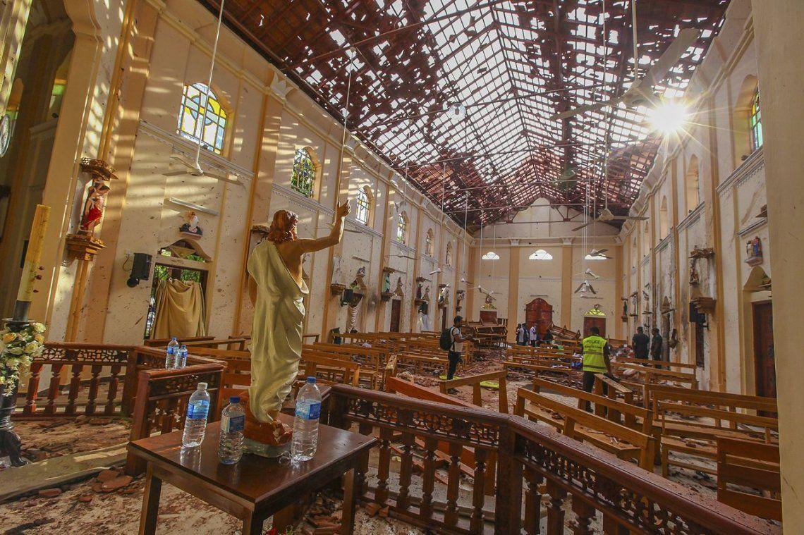 Condena mundial a los atentados en Sri Lanka