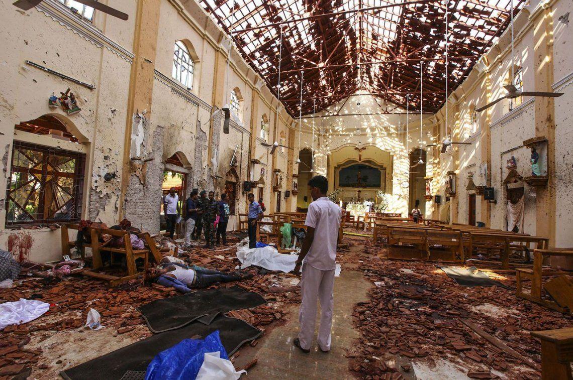 Las dolorosas imágenes de los atentados en Sri Lanka