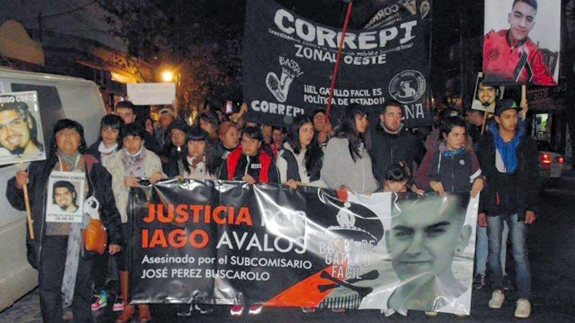 Villa Tesei: juzgan a subcomisario por matar a un joven por la espalda