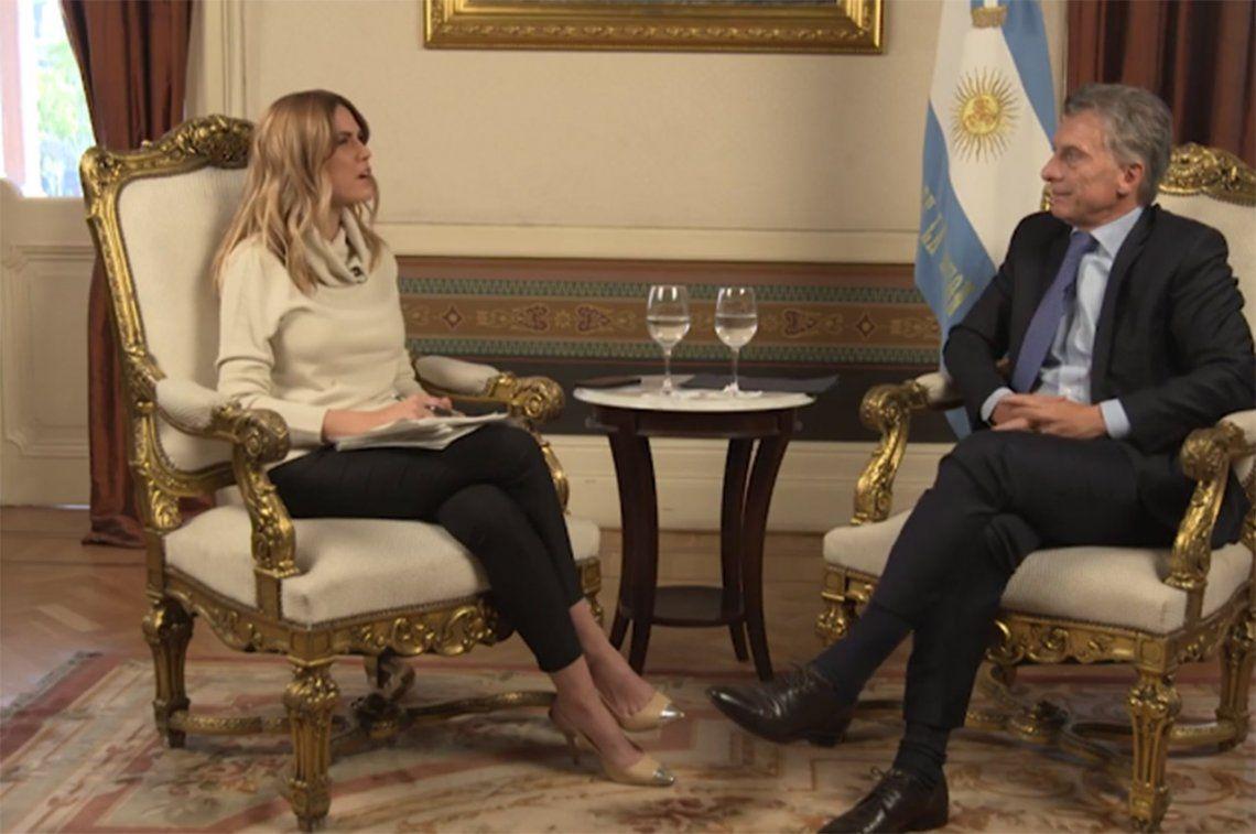 Con Viviana Canosa, Mauricio Macri vaticinó una elección pareja y posible fórmula con Martín Lousteau: Muchos votantes de Cambiemos pasaron a indecisos