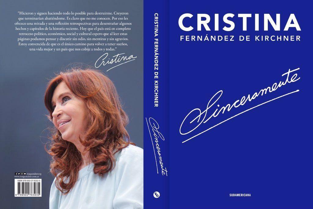 Cristina Kirchner anunció el lanzamiento de su libro